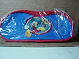 Dark Blue Red Trim Disney's Mickey Mouse Pencil Pouch