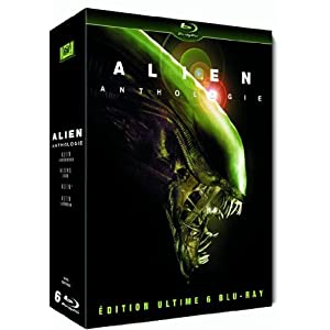 Alien Anthologie : Coffret 6 Blu-ray - Edition Ultimate [Blu-ray]