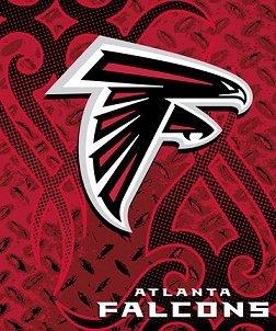Atlanta Falcons Luxurious Tatoo Series Team Blanket - Buy Atlanta Falcons Luxurious Tatoo Series Team Blanket - Purchase Atlanta Falcons Luxurious Tatoo Series Team Blanket (Northwest, Northwest Accessories, Northwest Mens Accessories, Apparel, Departments, Accessories, Men's Accessories)