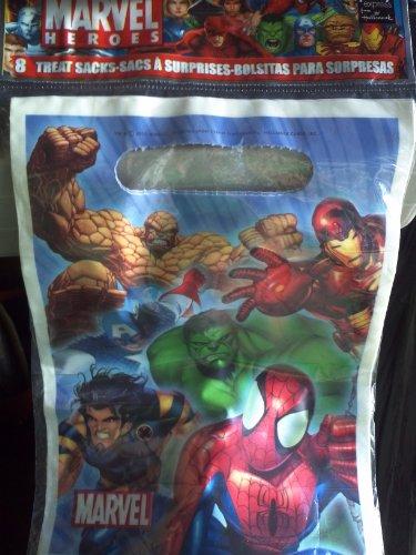 Marvel Heroes Loot Bags