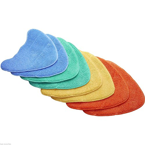 Pack of 2 Genuine Vax S2 S2S S2ST S2S-1 Steam Cleaner Mop Coral Microfibre Cleaning Pad Covers