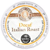 Barista Prima Decaf Coffee, Italian Roast, Rich. Dark. European., 24- Count K-Cup