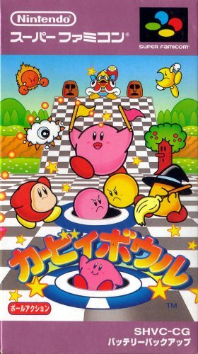 Kirby Bowl (Aka Kirby'S Dream Course) Super Famicom (Super Nes Japanese Import) front-580723