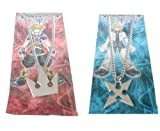 Kingdom Hearts Soras Crown & Roxass Cross Necklaces