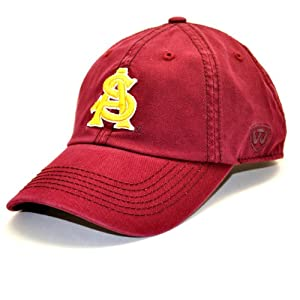 Buy Arizona State Sun Devils Adult Adjustable Hat by Top of the World