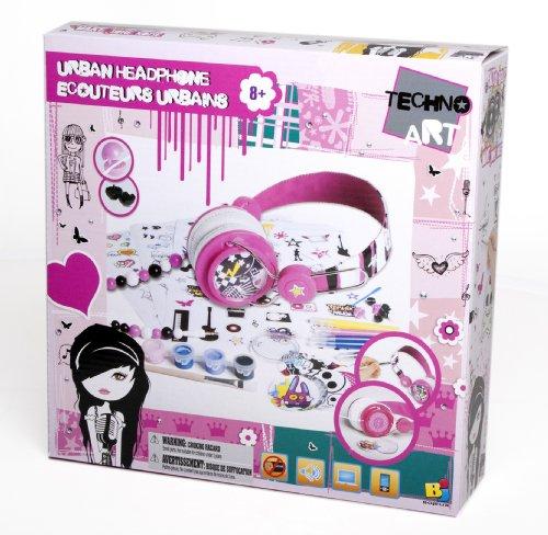 Bojeux Girls Techno Art Urban Headphone