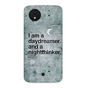 Impressive Knight Thinker Multicolor Back Case Cover for Micromax Canvas A1