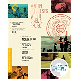 Martin Scorsese's World Cinema Project (Touki Bouki / Redes / A River Called Titas / Dry Summer / Trances / The Housemaid) (Criterion Collection) BLU-RAY/DVD DUAL FORMAT EDITION