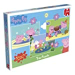 Peppa Pig Trio - 3 Jigsaw Puzzles in...