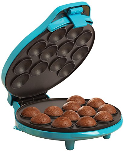 BELLA 13547 Cake Pop & Donut Hole Maker, Turquoise (Donut Hole Machine compare prices)