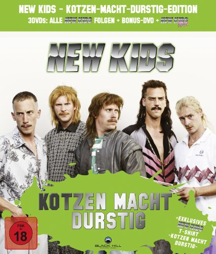 New Kids Kotzen-Macht-Durstig-Edition (Alle 3 New Kids DVDs, New Kids Kotzen Macht Durstig T-Shirt, exklusiv bei Amazon.de)