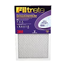 Filtrete Ultra Allergen Reduction Filter, 1500 MPR, 16-Inch by 24-Inch by 1-Inch, 6-Pack