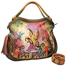 Large Convertible and Expandable Shopper Pattern: Enchanted Forest Fairy