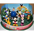 Mickey Mouse Clubhouse Deluxe Figure Set Disney Exclusive Set of 9 Fun Figures