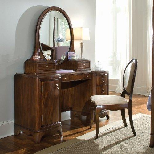 Rhapsody Pedestal Vanity/Desk