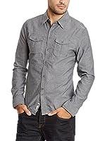 PAUL STRAGAS Camisa Hombre (Gris)