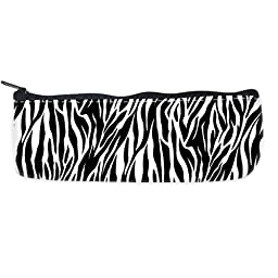zebra print pattern Pencil Case Bag