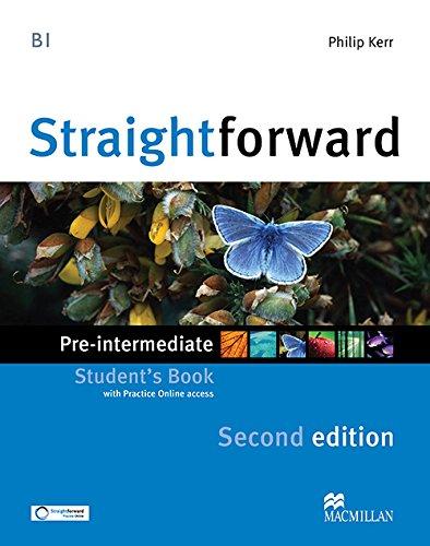 STRAIGHTFORW Pre-Int 2nd Sts & Webcode (Straightforward)