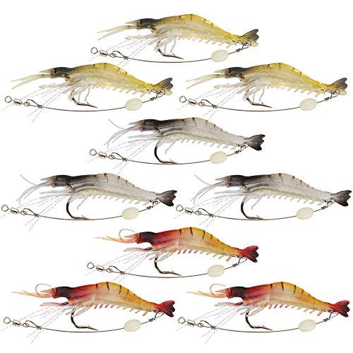 shelure-soft-lures-shrimp-bait-set-kit-lots-for-freshwater-trout-bass-salmon