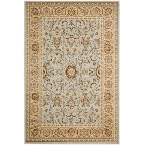 Safavieh Florenteen Collection FLR127-8012 Grey and Ivory Area Rug, 8 feet by 10 feet (8' x 10')