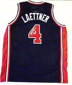 Christian Laettner Signed U.S. Dream Team 1992 Jersey