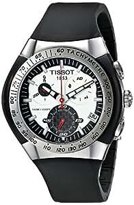 Tissot Men's T0104171703100 T-Trax Chronograph Black Rubber Strap Watch