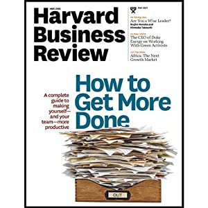 Harvard Business Review, May 2011 | [Harvard Business Review]