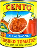Cento All in One Chunky Crushed Tomatoes in Puree, 28-Ounce Cans (Pack of 12)