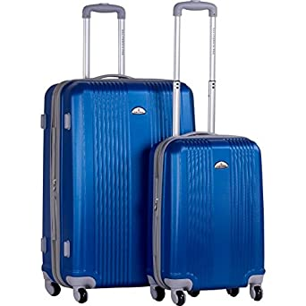 CalPak Torrino Carry-On Hardside Luggage Set (Blue)