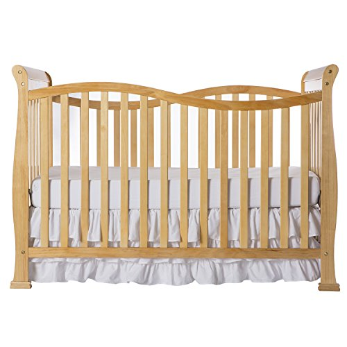 Dream On Me Violet 7 in 1 Convertible Life Style Crib, Natural (Convertible Crib Natural compare prices)