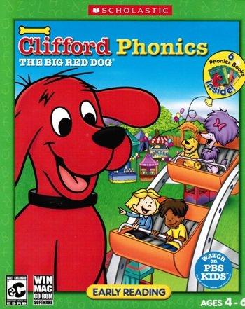 Clifford The Big Red Dog: Phonics - Includes 6 Phonics Books Inside!