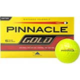 Pinnacle Gold Golf Ball 15pk Yellow