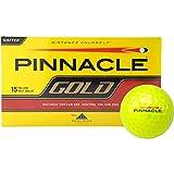 TITLEIST(タイトリスト) ピナクル ゴールド 1箱15球 US仕様 ゴルフボール (イエロー)
