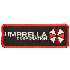 Resident Evil Umbrella Corporation Embroidered Velcro Écusson Patch