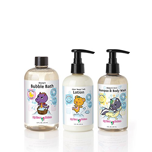 My True Nature Tubby Time Clean and Soft Set, 28 Fluid Ounce
