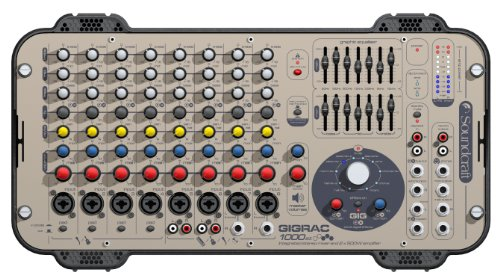 Soundcraft GigRac 1000ST  8-Channel 1000-Watt