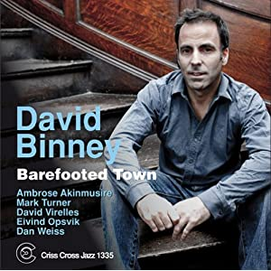 David Binney- Barefooted Town cover