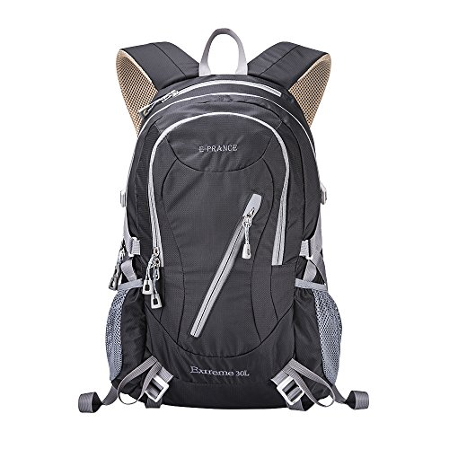 e-prance-30l-nylon-backpack-for-outdoor-hiking-travel-camping-mountaineering-black-shoulder-bag