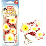 CarPlan Odour Eliminating Bahiti Island Scented Hula Lei Necklace Car Charm Air Freshener