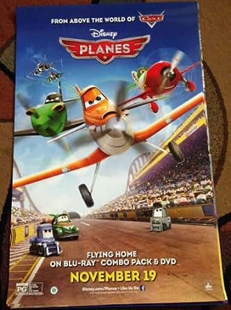 DISNEY PLANES - 26x39 Original DVD Release Movie Poster ... Planes Movie Poster