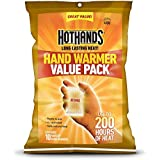 HotHands Hand Warmers (Up to 10 Hours Heat)-10 Pair Pack