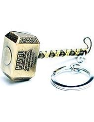 GCT Thor Hammer / Marvel Avengers / Superhero Metal Keychain / Keyring / Key Ring / Key Chain (GOLD)