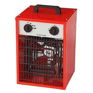 cheap sentik 3kw 230v industrial fan heater workshop. Black Bedroom Furniture Sets. Home Design Ideas