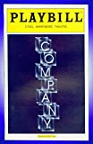 Company, Broadway playbill + Raul Esparza , Barbara Walsh , Matt Castle , Heather Laws