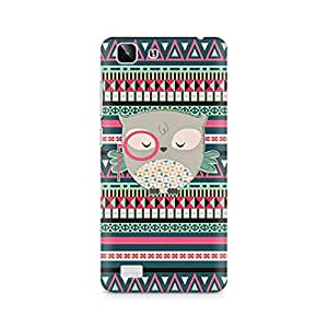 Mobicture Mr Owl Premium Printed Case For Vivo X5