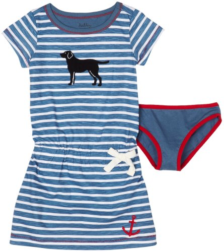 Hatley Girls 2-6x Sailing Dogs Tunic Dress