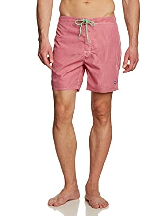 Pepe Jeans - Short Homme - Rouge - Rouge - FR : Large (Taille Fabricant : Large) (Brand size: Large)