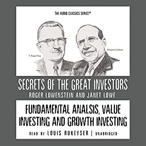 Fundamental Analysis, Value Investing, and Growth Investing Audiobook