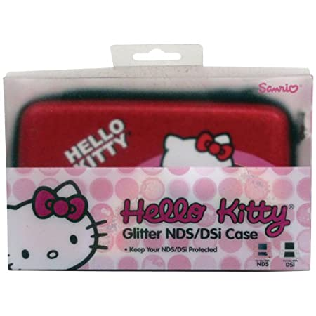 Hello Kitty Glitter NDS/DSi Case