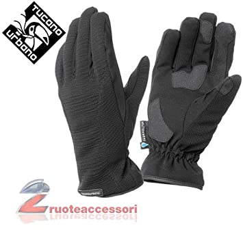 Tucano urbano 904DMN3 mONTY tOUCH-hiver imperméable, respirant et gants pour écran tactile noir taille s